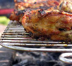 pollo alla griglia alla jamaicana