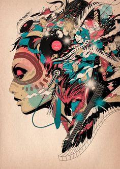 DJ Okawari Albulm Art