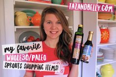 Today I'm sharing our favorite Whole30 and Paleo-friendly products from our Sprouts Shopping List, along with a fun and easy grocery list printable!
