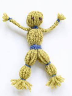 yarn dolls ... http://www.makingfriends.com/yarn_doll.htm
