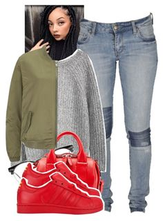 """❤️"" by tonibalogni ❤ liked on Polyvore featuring Lee, Spitfire, Alexander Wang, Maison Scotch, adidas, women's clothing, women, female, woman and misses"