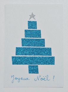 Bricolage : Fabriquer une carte de voeux pour Noël