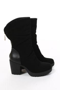 Støvletter - Tingeling svart