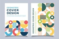 Geometric Graphic Design, Graphic Design Books, Cookbook Design, Abstract Paper, Memphis Design, Magazines For Kids, Cover Template, Book Cover Design, Coloring For Kids