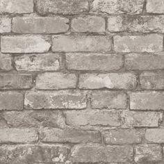 Libra White Brick Texture Brewster Wallpaper Wallpaper Brewster Wallcoverings Neutrals Brick Wallpaper Faux Finish, Non Woven, Easy to clean , Easy to wash, Easy to strip Vinyl Wallpaper, Brick Wallpaper Silver, Stone Wallpaper, Rustic Wallpaper, White Wallpaper, Textured Wallpaper, Peel And Stick Wallpaper, Wallpaper Backgrounds, Peelable Wallpaper