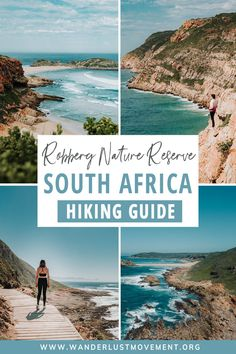 Robberg Nature Reserve is home to some of the most beautiful day hikes in South Africa. With its rugged, picturesque cliffs, sparkling Atlantic Ocean views, and scenic hiking trails, Here's everything you need to know about Robberg's epic hikes | South Africa Travel | Hiking | #southafrica #hiking #africa #travel #gardenroute #bucketlisthiking