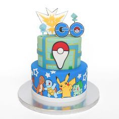 Picture of Pokémon Go Cake!