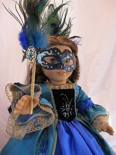 Ooak-Queen-of-the-Night-for-American-Girl-Cecile-Marie-Grace-Caroline-Isabell