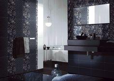 Коллекция «АЛЛЕГРО» Цвета коллекции «Аллегро» словно отгораживают и защищают от повседневной суеты. А декоративные вставки с цветущими бутонами и плитки с лаконичным геометрическим узором будто говорят, что в покое всегда сокрыта истинная сила. Mirror, Bathroom, Wall, Furniture, Home Decor, Washroom, Bath Room, Walls, Interior Design