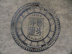 Prague MANHOLE COVERS