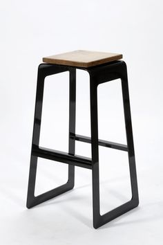 between the hours of bar stool on Industrial Design Served