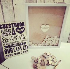 The perfect Guest Book; leaving gift; 'Thank You'; House warming... Love this idea! - Pinterest at it's best :)