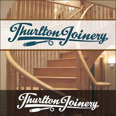 Creative Hat's Logo Design Concept for Thurlton Joinery