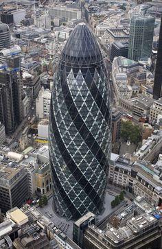 The Gherkin - London - Norman Foster