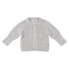 Imps & Elfs Gray Baby Cardigan   Wee Mondine