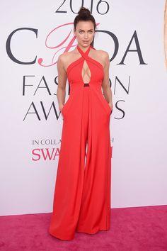 Irina Shayk in Misha Nonoo--CFDA Fashion Awards 2016