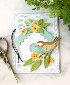 Cullen-ary Creations Birds And The Bees, Distress Oxide Ink, Bird Cards, Printer Paper, Color Blending, Some Ideas, Pattern Paper, One Color, Pumpkin Carving