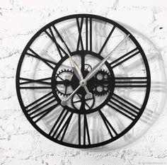 """Часы для дома ручной работы. Часы настенные 45см """"Kaiku-2 S"""". KODUMAJA Kuus. Ярмарка Мастеров. Настенные часы"""