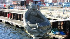 Images and photos Horden ,County-Durham england and its environment, landscapes and monuments, 76 Durham England, North East England, England Uk, Monkey Statue, Northern England, Fishing Villages, Outdoor Art, British Isles, History Facts