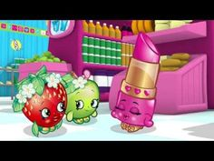 """Shopkins Cartoon - Episode 2 """"Acting Up"""" cute shopkins from Moose"""