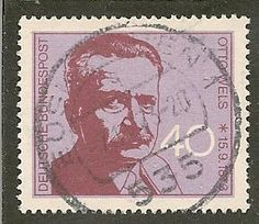 Germany Scott 1124 Party Leader Used .30