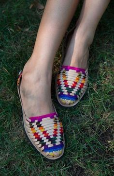 2b8209901d4 Mexican Leather Huaraches   Rebozo textil Huaraches