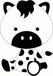 Silhouette Online Store - View Design #44415: cow
