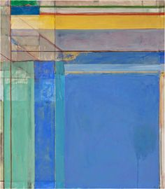 Richard Diebenkorn, Ocean Park #79, 1975. Oil on canvas, 93 x 81 inches. Monday, May 4th, 2015 ...from the artcritical online article:  Richard Diebenkorn at the Royal Academy: Six Painters on a Painters' Painter by Paul Carey-Kent