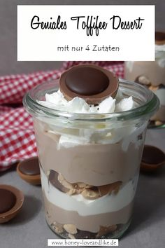So machst du ein geniales Toffifee Dessert mit nur 4 Zutaten How to make a great Toffifee dessert with only 4 ingredients Salad Recipes Healthy Lunch, Salad Recipes For Dinner, Easy Smoothie Recipes, Easy Smoothies, Easy Cake Recipes, Cupcake Recipes, Easy Healthy Recipes, Cookie Recipes, Healthy Snacks