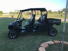 Used 2015 Bad Boy Off Road STAMPEDE ATVs For Sale in Oklahoma. 2015 Bad Boy Intimidator Crew 750CC! Only 123 miles! Tow package front and back, top, bluetooth stereo, lights, lifted, 27x10 tires, dump bed. $15,000 brand new. This is a one owner, lightly used in the yard, never off roaded or hunted with. Still under warranty! Getting a rarely used UTV, garaged and well taken care of 4k under dealer price! Black with grey and black seats. This is an Intimidator not a stampede.