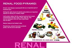 Image result for food pyramid for kidney transplant 2016