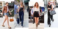 Street style: Gigi Hadids street style looks at New York Fashion Week http://ift.tt/2ccEpld #VogueParis #Fashion