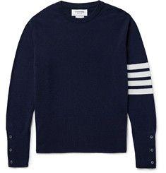 Thom Browne - Striped Cashmere Sweater