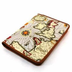 euro map passport case