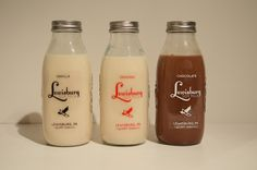 Lewisburg Soy Milk by Stephanie Massine, via Behance