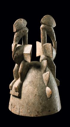 Africa | Headdress from the Senufo people of the Ivory Coast
