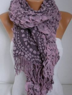 Scarf Fall Winter Accessories Cowl Scarf Oversize by fatwoman #fashion -  shawl -  fall
