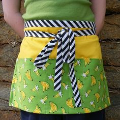 Work Apron easy sewing pattern