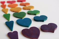 Counting Hearts - what a fun sorting game for Valentines! via Mama May i on Etsy!
