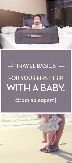 Planning a trip with baby? Here's out list of tricks and tips to make traveling with baby girl or baby boy a breeze.