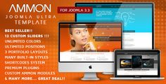 AMMON IS AN AWESOME, RESPONSIVE, CREATIVE, ULTRA-PREMIUM TEMPLATE FOR JOOMLA 3.3, BASED ON THE POWERFULL BOOTSTRAP RESPONSIVE FRAMEWORK.