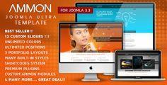 Ammon Responsive Template for Joomla