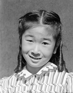 Ansel Adams, Portrait of Joyce Yuki Nakamura at Manzanar, 1943 ...