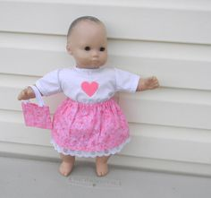 Doll Clothes for 15 Inch Dolls Bitty Baby by roseysdolltreasures, $10.00