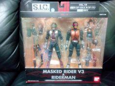 Kamen rider-V3 & Riderman