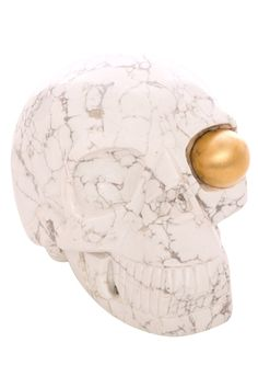 Dia de los muertos will never be the same : )   Left Eye Skull, Large by KW