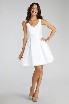This fun and flirty LWD is perfect for everything from the engagement party to the rehearsal dinner. Pack your tissues, because this one has POCKETS.