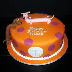Weiner Dog Cakes  Yummy cakepins.com
