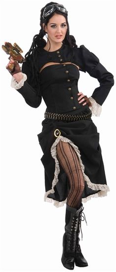Steampunk Renegade Adult Costume #steampunk #steam punk