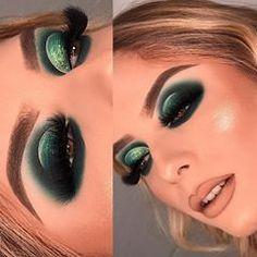 makeup looks natural Sexy Eye Makeup, Glam Makeup Look, Makeup Eye Looks, Basic Makeup, Unique Makeup, Beautiful Eye Makeup, Love Makeup, Colorful Makeup, Makeup Inspo
